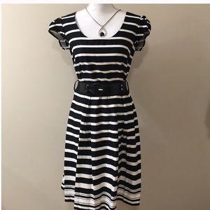 Black & White MSK Dress